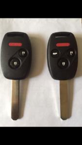 Broken Honda Key? We have Break Resistant Honda keys in stock